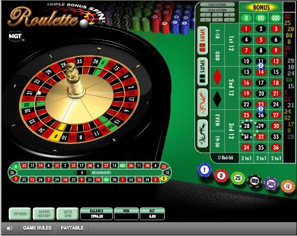 Roulette game-A game of chances