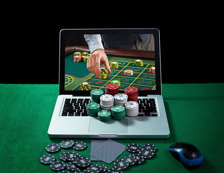 Online gambling games and money